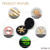 Fidget Toys, Great Gift for ADD, ADHD, Anxiety and Autism Adult 6 Hexa Wings Detachable Fidget Spinner Brass