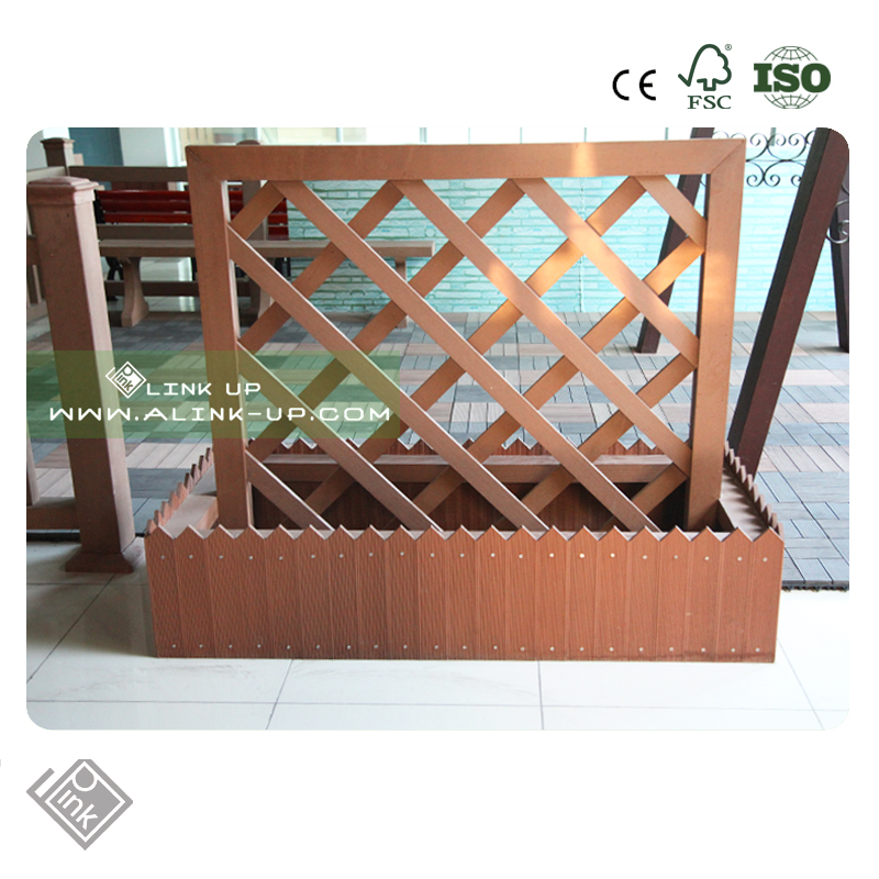 Easily installation wpc fencing Wood Plastic Composites Materials wpc post