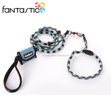 Factory Custom Adjustable Reflective Dog Collars and Leashes