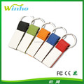 Colorplay Leatherette Key Ring