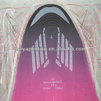 water based 3d screen printing material for gym shoe