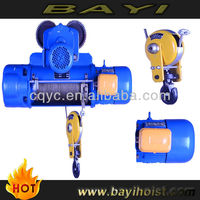 CD1 5t electric wire rope electric hoist /pulley for electrical wires /hoist lifting machine 5ton