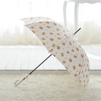 2016 Top Quality Straight Princess Sublimation Umbrella