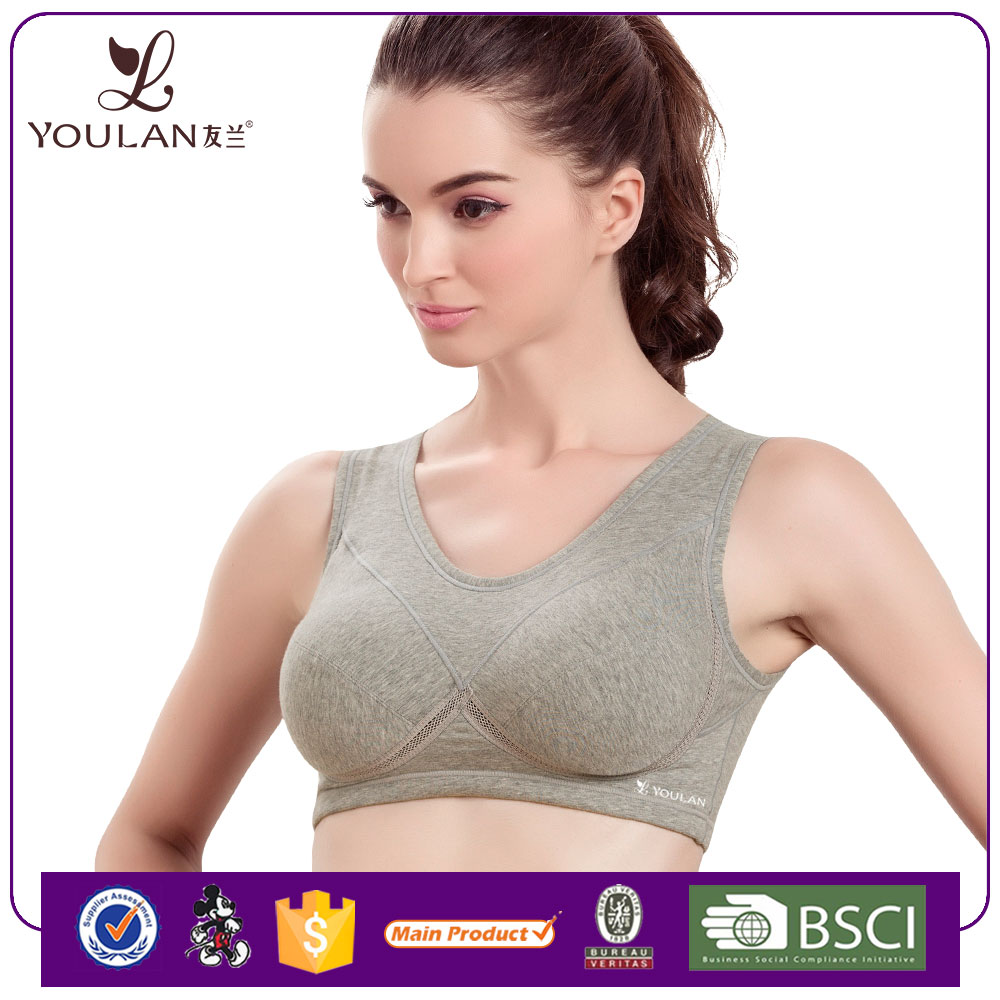 2015 Latest Cute Female Gray hot images women sexy bra underwear