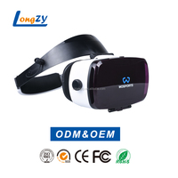 Wholesale 3d online virtual movies games reality helmet vr 3d glasses