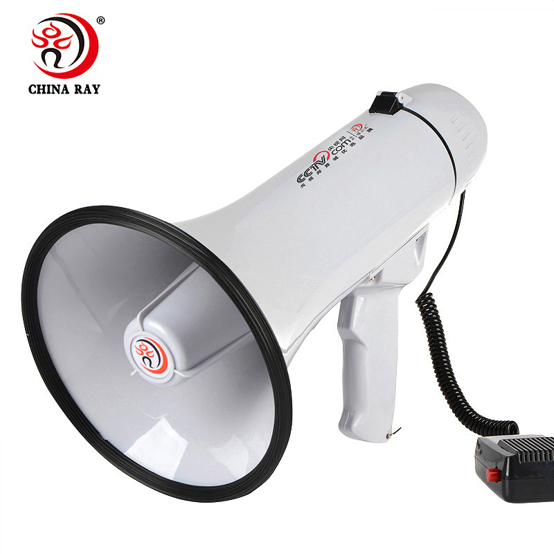 alarms Sound recording outdoors High voice multifunction handheld professional power megaphone