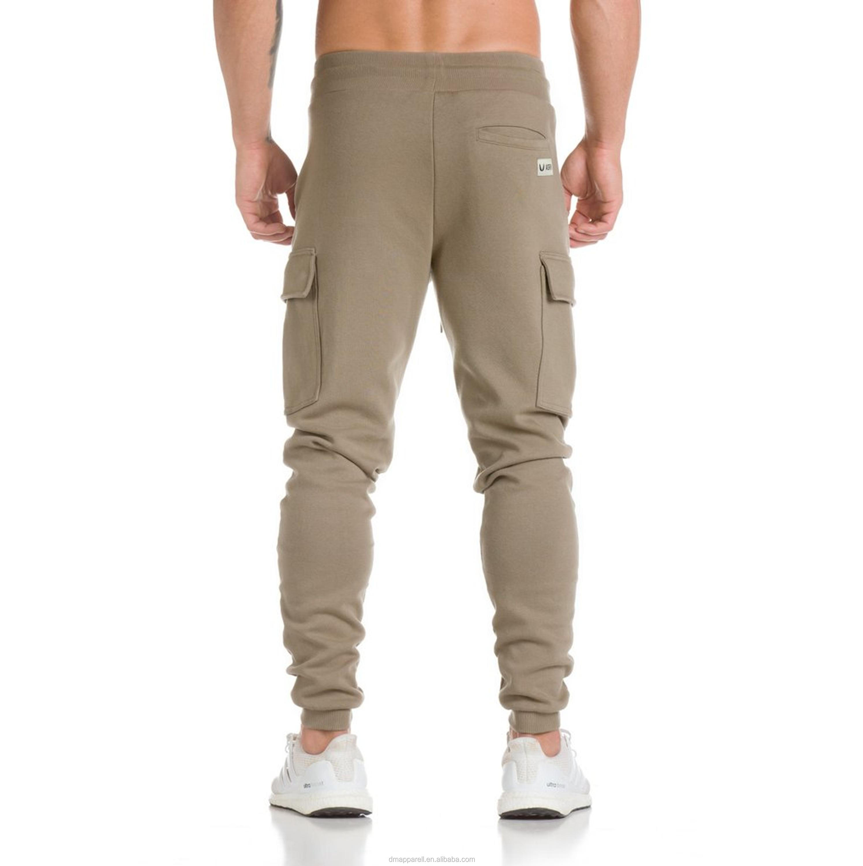 2017 Newest Gym Custom men Joggers ,Sports Joggers With adjustable Waistbands