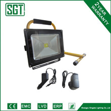 20% discount rechargeable 30w flood led light ce rohs approved