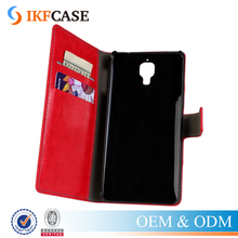 Genuine Leather Case For Xiaomi Mi3 Stand Design Wallet Style Cell Phone Accessory For Xiaomi Mi 3