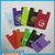 Cute Design 3M Sticker Adhesive Silicone Smart Wallet Card Holder