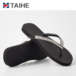 Latest Chinese product popular girls nude wedding beach slipper flip flops