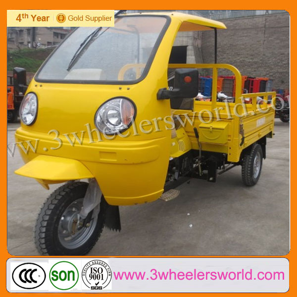 Chinese gas powered 3 wheel motorcycle for disabled,moped cargo tricycles,pedal cars for adults