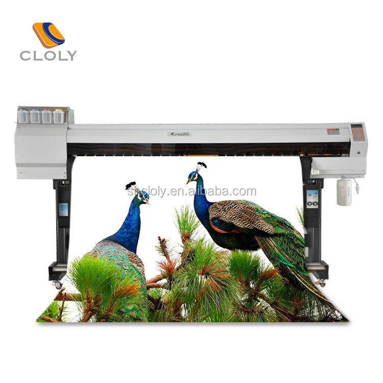 Manufacturers supply external drying system 1.8M large format flatbed printing double 5113 printhead sublimation digital printer