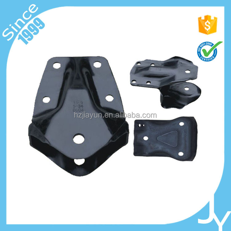 Reasonable price custom black powder coating stamped metal steel stamp part for auto parts
