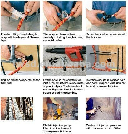 Injection Packer, Grout Injection Packer, Waterproof Material preventative waterproofing products
