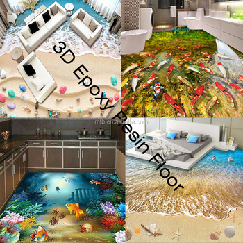 3D Epoxy Resin Home Flooring