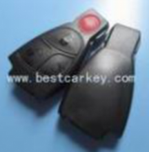 Best price 3+1 buttons keyless control remote for mercedes key cover with a circle on the backside no logo