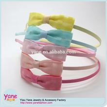 2017 popular hair accessories suppliers, fancy kids headband, girls headband bows