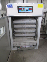 Top sale commercial price 300 eggs incubator with best egg turning system