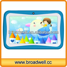 New design different colors Allwinner A13 Dual camera for Children use 7inch tablet android 4.1