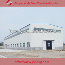 Easy to install steel structure workshop building
