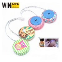 Special Gift Item Colorful PU Leather Unique Tape Measure Wedding Favors As Giveaway
