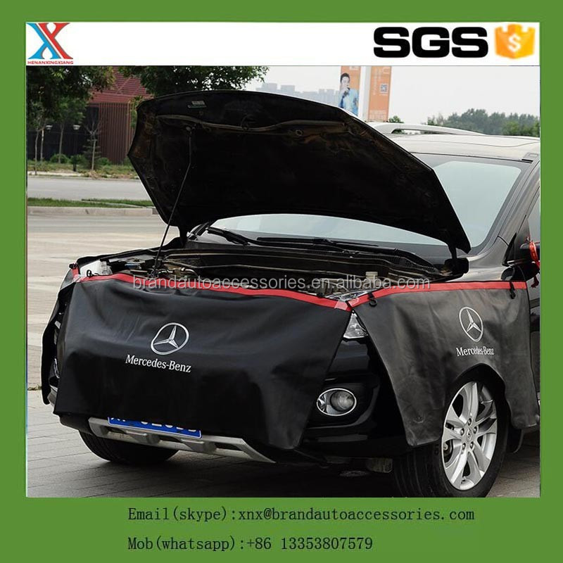 Leather Pu Vinyl Magnetic Car Fender Cover Protection Of Anti Dust