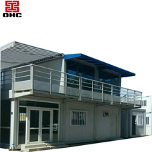 China low cost steel frame luxury family living mobile houses plans smart prefab home