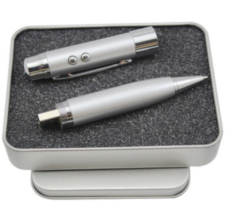 Save 20% High quality metal laser pointer usb pen