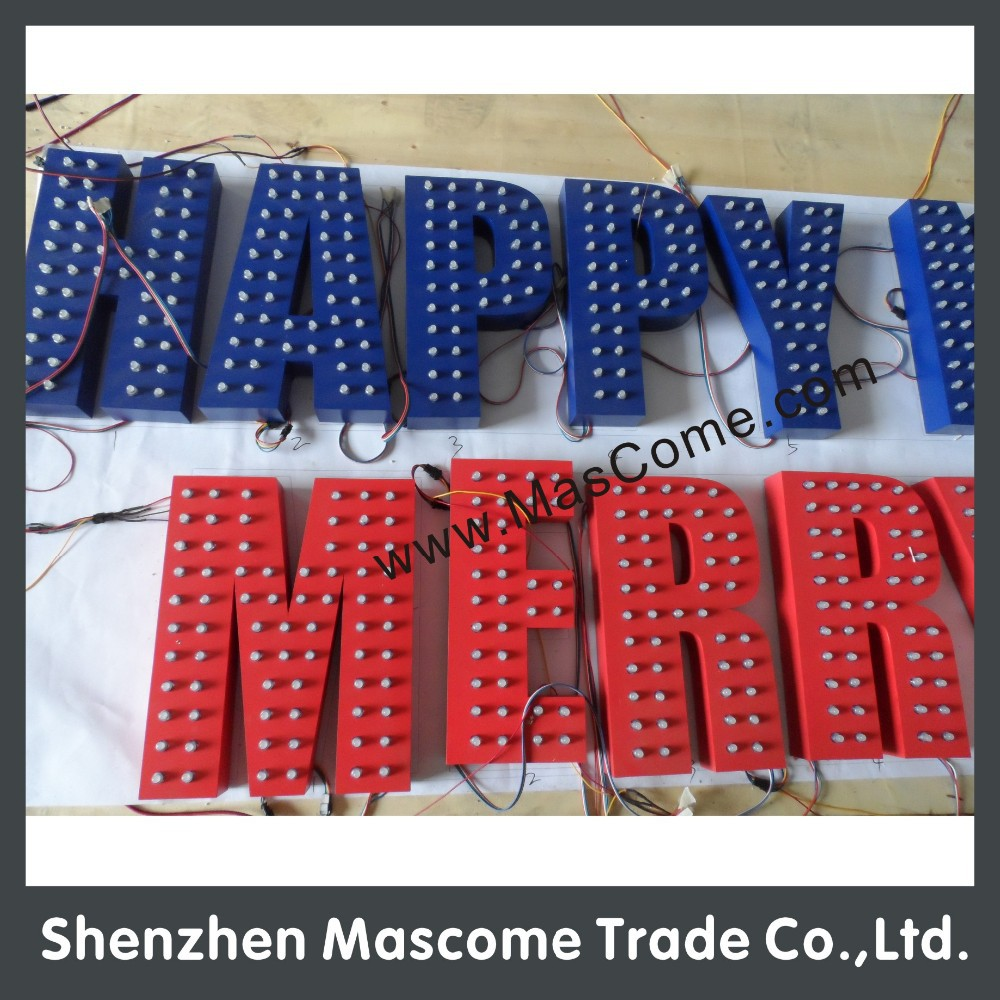 EXPOSED LED Frontlit lighting letter made in China