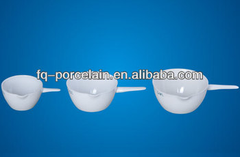 100ML Porcelain Basins, evaporating dish with handle