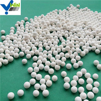 High density alumina ceramic catalyst support ball for chemical tower