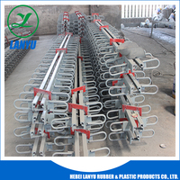 rubber China 80mm movement steel bridge expansion joint
