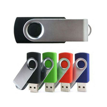 Colorful 4GB Twist USB memory stick, metal custom USB flash drive