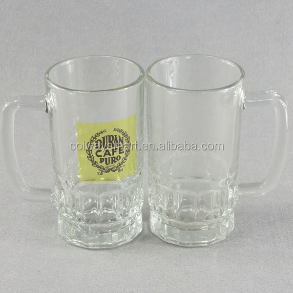 Wholesale 22oz Funny German Stein Custom Logo Print Sublimation Blank Frosted Glass Beer Mug