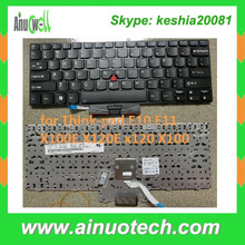 New US Laptop Keyboard For Lenovo IBM Thinkpad E10 E11 X100E X120E x120 X100 Laptop Keyboard Wholesale