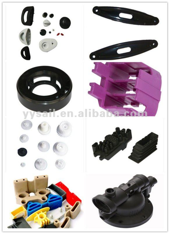 custom plastic part inject molded or prototype