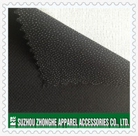 Polyester interlining fusible buckram for garment