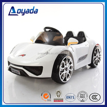 2017 new style and fashionable children's eletric car with bluetooth rc and double door open