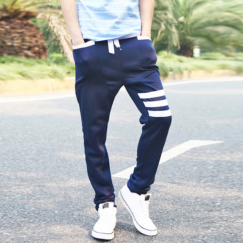 Korea Style Men Branded Softshell Knit Pants For Boy Online Wholesale Shop