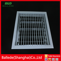 customized air grille with damper for ventilation