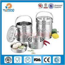 double wall stainless steel thermal cooker, lunch box food thermo container