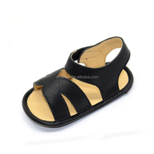 2017 summer fashion, comfortable leather boy, girl, baby sandals