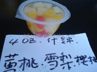 hot sell China fruits canned fruit cup