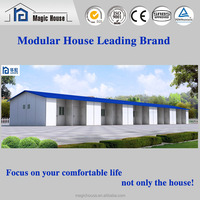 real estate portable mobile house in India/continue house/simpla domitory plan