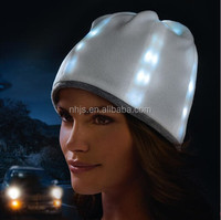 Led light Knitted cap sport funny winter hat LED CAP
