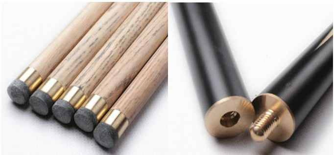 China Factory 3/4 Jointed Billiards Cue Stick
