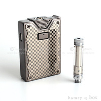 The most convenient device Kamry Q box mini vapor pen mod electronic cigarette