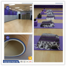 Hot sale PVC Gym Flooring/Vinyl Fitness Club Flooring