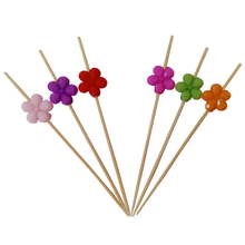 Party Picks Decoration with Ball Beaded Bamboo Picks